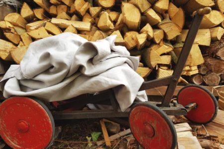 Leinenbettwäsche in 200 x 200 cm